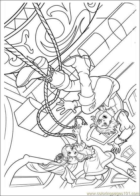 Barbie Musketeers 09(1) Coloring Page