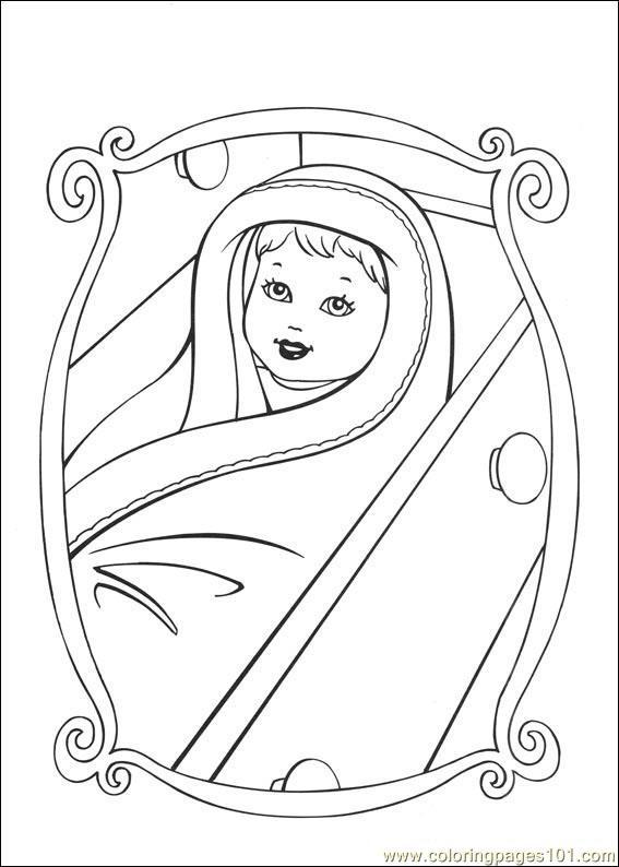 - Barbie-Princess Coloring Page - Free Barbie Coloring Pages :  ColoringPages101.com