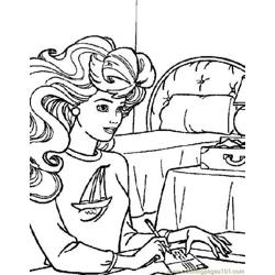 001 Barbie 53 coloring page