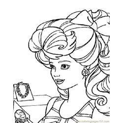 001 Barbie 54 coloring page