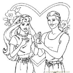 001 Barbie 57 coloring page