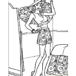 001 Barbie 59 coloring page