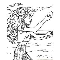 001 Barbie 63 coloring page