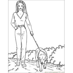 001 Barbie 85 coloring page