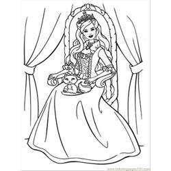 15 Ie Princess Coloring Pages 03 Free Coloring Page for Kids