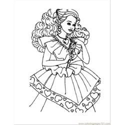 16 Barbie Coloring Pages 16