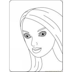 39 Barbie Coloring Pages 1
