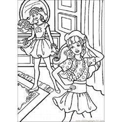 53 Barbie Coloring Pages 1 Lrg