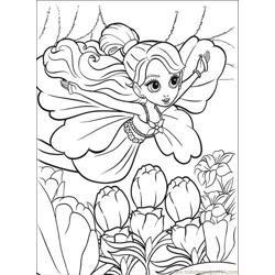 56 E Thumbelina Coloring Pages 3