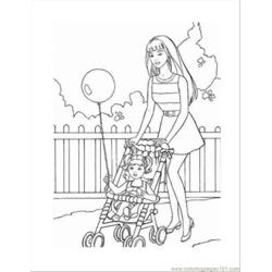 9 Barbie Coloring Pages 04