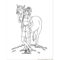 Barbie34 Free Coloring Page for Kids