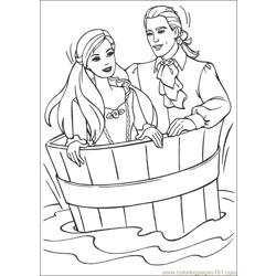 Barbie_Pauper Free Coloring Page for Kids