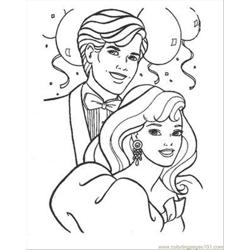 And Barbie Coloring Pages 05