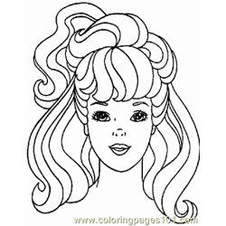 Barbie 7 coloring page