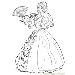 Barbie Princess Colouring Pages (2)
