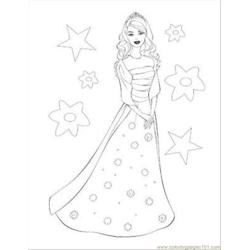 Barbie Coloring Pages 11