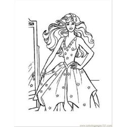 Barbie Coloring Pages 23