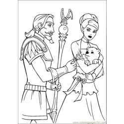 Barbie Magic Pegasus 7 Free Coloring Page for Kids
