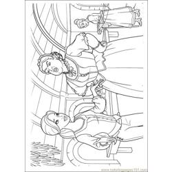 Barbie Musketeers 04(1) Free Coloring Page for Kids