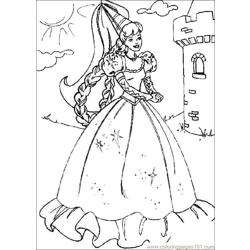 Free Printable Princess Colouring Page 0(1)
