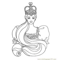 Free Printable Princess Colouring Page 0(3)