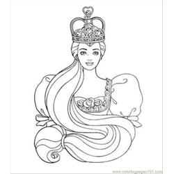 Ie Princess Coloring Pages 04