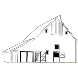 Barn Mattoon coloring page