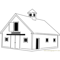 Crib Barn coloring page
