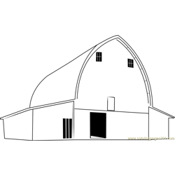 Sunnyside Barn coloring page