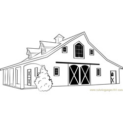 Western Classic Burne coloring page