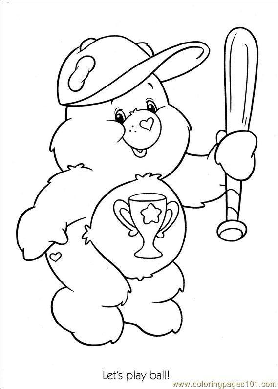 Baseball 2 Coloring Pages 7 Com Page