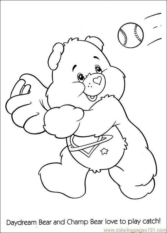 Baseball Bear Coloring Pages 7 Com Page