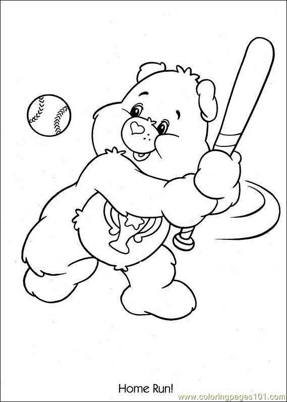 Baseball Home Run Coloring Pages 7 Com Page