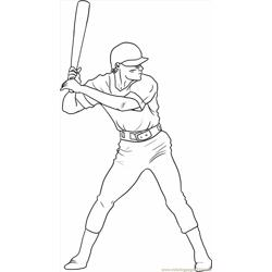 Draw A Baseball Player Step 5