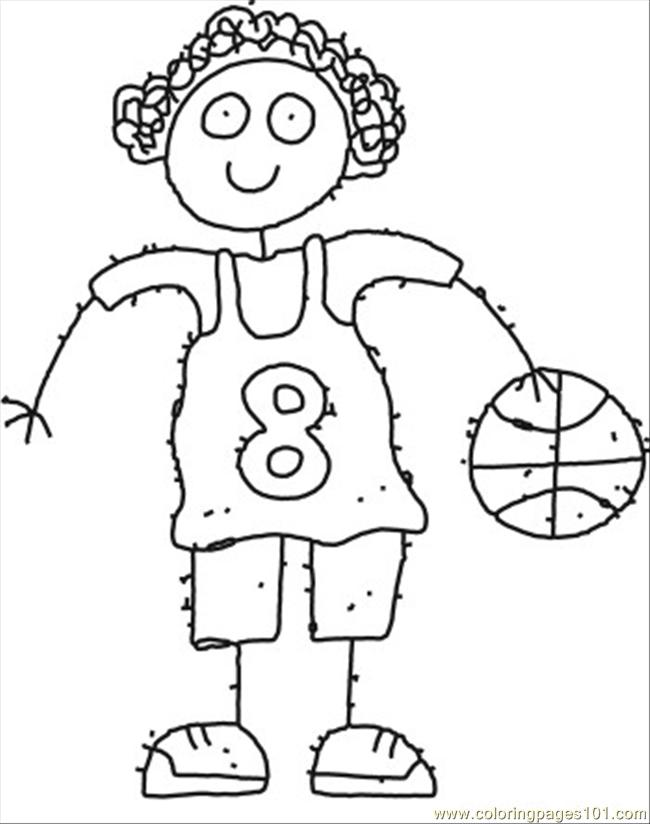 87 ll girl cartoon coloring page coloring page