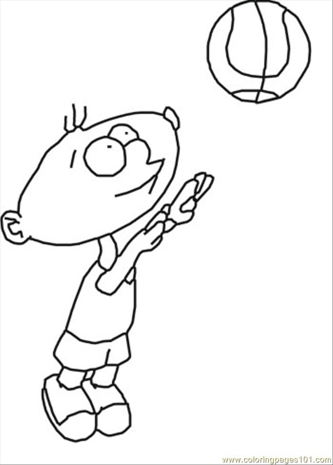 boy hair coloring pages - photo#26