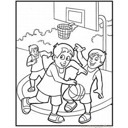 20 Sketball Coloring Pages 3 Lrg