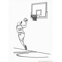 21 Sketball Coloring Pages 4 Lrg coloring page