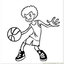 36 Sketball Coloring Pages 2 Med