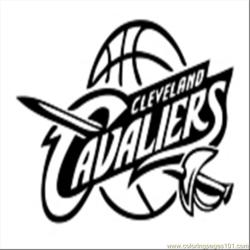 40 Cleveland Cavs Coloring Page