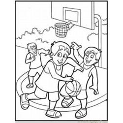 77 Sketball Coloring Pages 2 Med