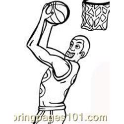 Basketball Coloring Pages 02
