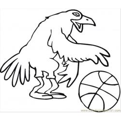 Bird Basketballer