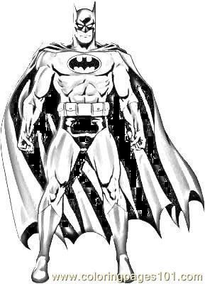 batman 2 coloring page for kids  free batman printable