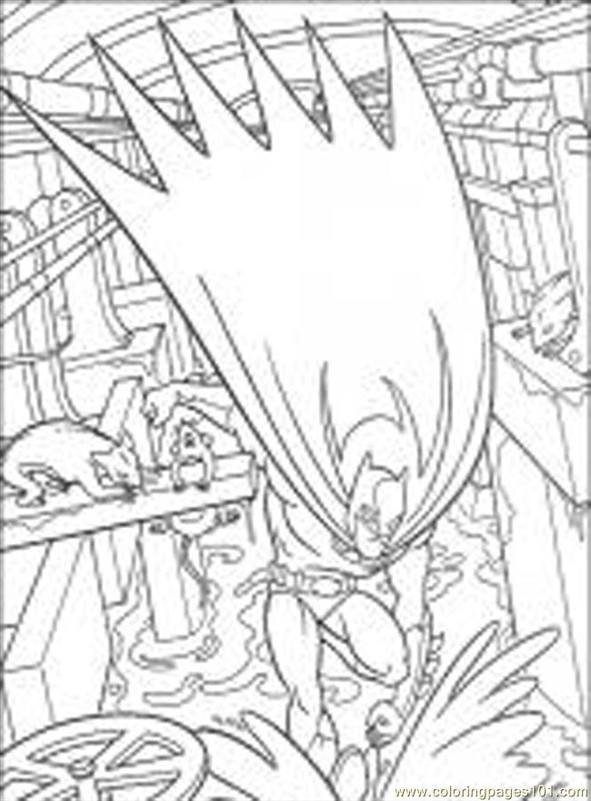 Batman (44) Coloring Page