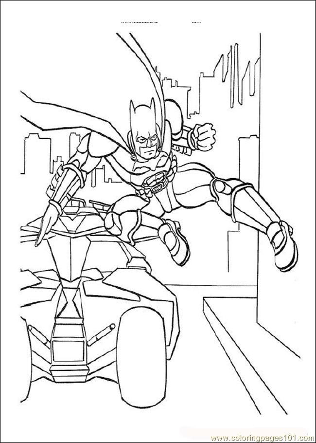 Batman03 Coloring Page - Free Batman Coloring Pages ...