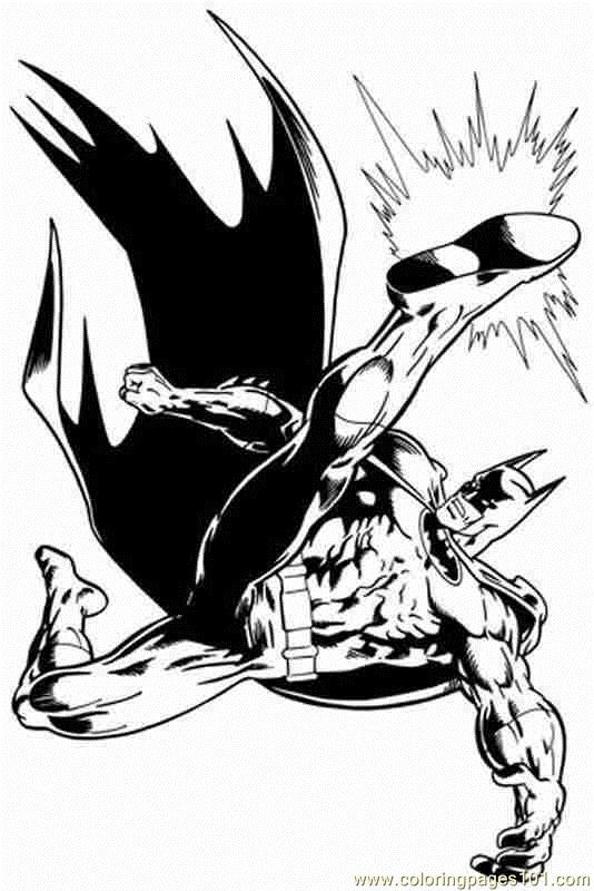 Batman (5) Coloring Page