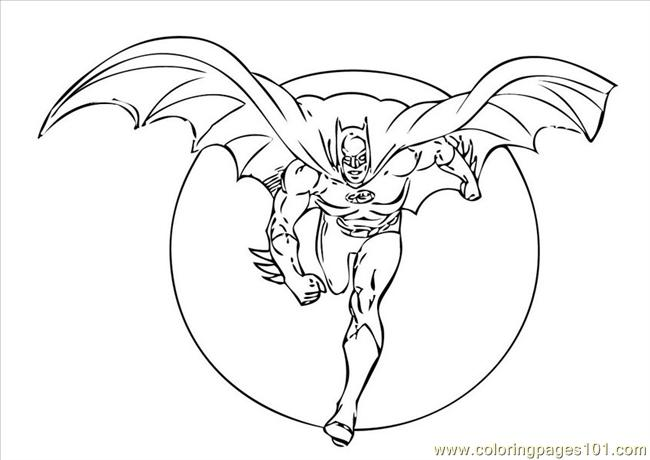 Batman Coloring Page Coloring Page For Kids Free Batman Printable Coloring Pages Online For Kids Coloringpages101 Com Coloring Pages For Kids