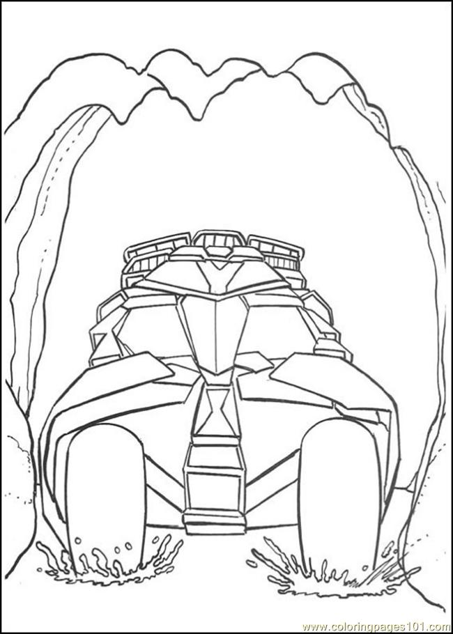 Batman Coloring Pages 111 Coloring Page