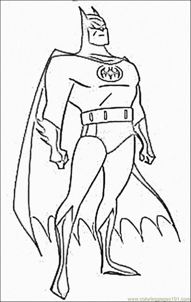 number 3 coloring pages. Batman Coloring Pages 3 Page  Free